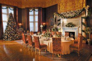 Christmas - Breakfast Room at Biltmore House